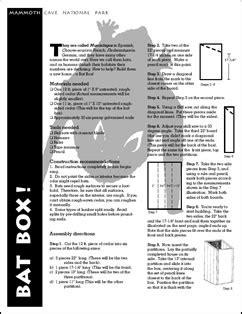 free bat house plans a step by step photographic woodworking guide page 192