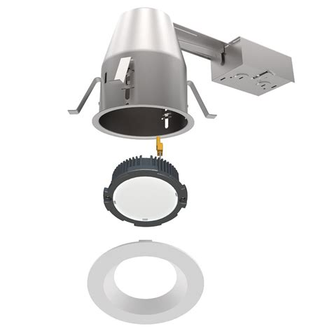 Light Fixture Housing 120v 6 Quot Led Ic Airtight Title 24 Remodel Recessed Housing Drdhric6 By Dmf