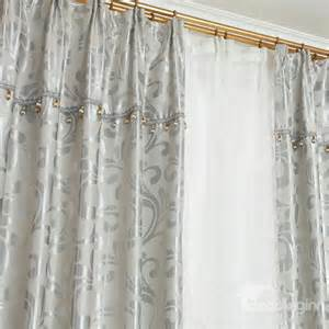 Curtains Botanical Print Modern Home Fashion Botanical Print Grommet Top Curtain Beddinginn