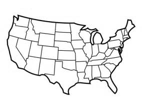 Free United States Map Outline Printable by Tim De Vall Comics Printables For