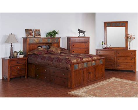 santa fe bedroom furniture petite storage bedroom set santa fe sunny designs su