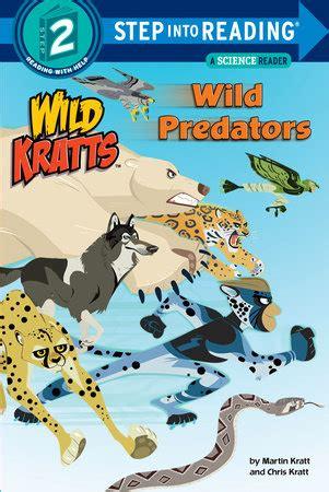 step into reading predators kratts