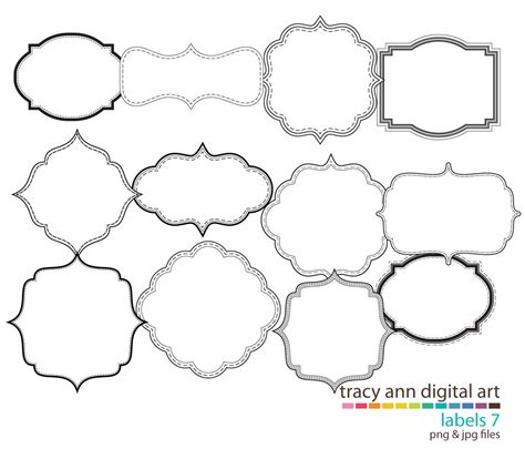 printable decorative shapes decorative shape clipart clipart suggest