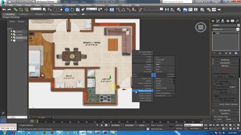 3ds max walls tutorial 3ds max basic 3d floor plan modeling wall door windows