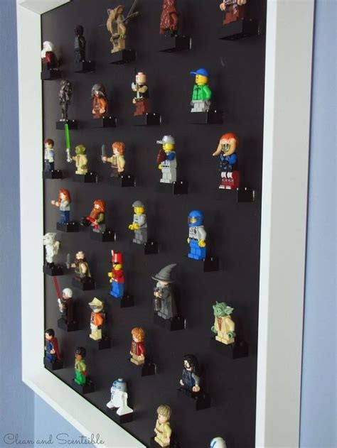 lego home decor diy lego mini figure display hometalk