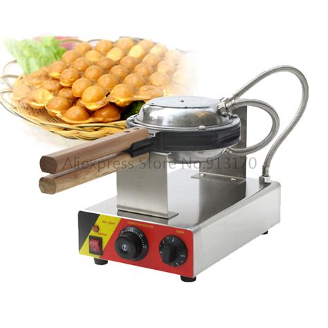 Best Seller Signora Waffle Egg Pan Cetakan Waffle Telur Bulat aliexpress buy stainless steel qq egg waffle baker egg shape waffle machine with