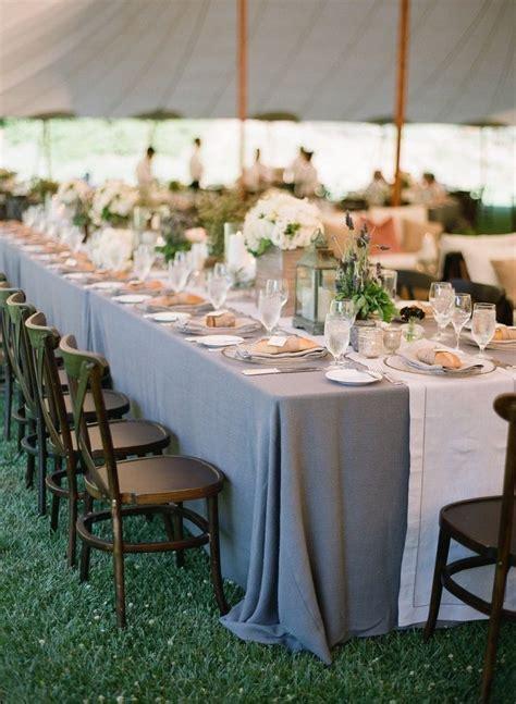 grey runner wedding gray tablecloths with white runner wedding ideas