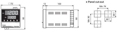 Autonics Temepratur Controller Tzn4h 14s autonics tzn4l 14c temperature pid controllers