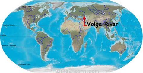 volga river map volga river