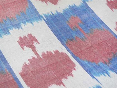 uzbek textile storesebaycom uzbek with hearts patterns handmade silk ikat adras fabric