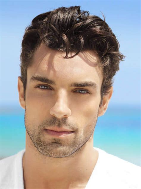 gorgeous mens hairstyles  thick hair