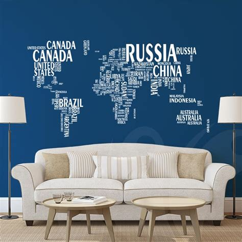 wall stickers toronto world map wall decal sticker wall decals and wall stickers toronto