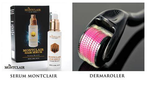 Serum Rambut Montclair bebas botak pakai montclair dan derma roller