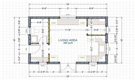 cabin layout 16 x 24 cabin 16x24 cabin floor plans small cabin layout