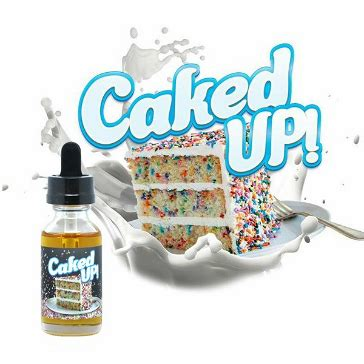 30ml caked up 3mg max vg eliquid with nicotine low eliquid by market vape co