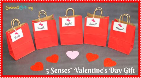5 Valentines Day Gifts by 5 Senses S Day Gift Thoughtful Gifts