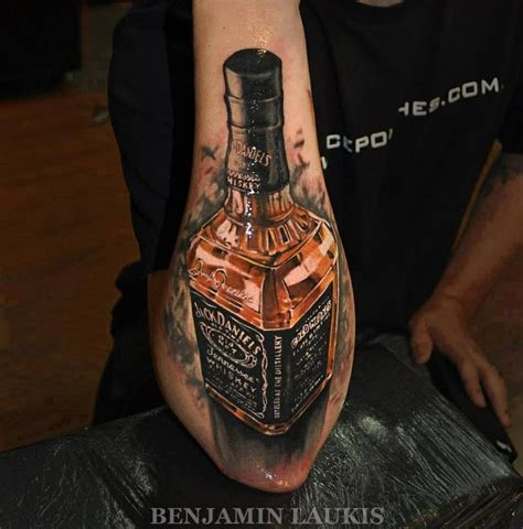 alcohol tattoo bottle www pixshark images