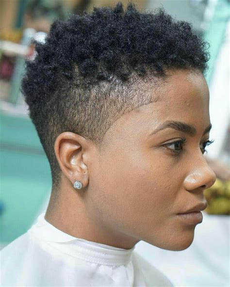 tapered barber cuts for women perfect natural make up beautiful naturals pinterest