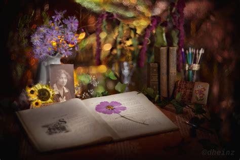 flower bookmark   poem blumen lesezeichen und ein