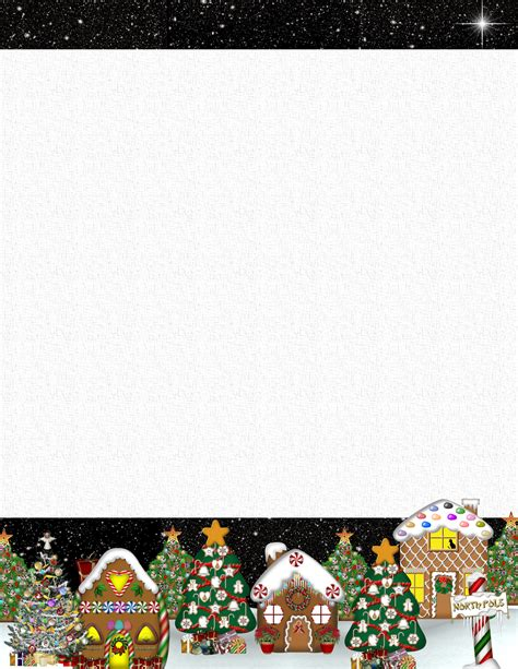 christmas stationery downloads christmas 2 free stationery com template downloads