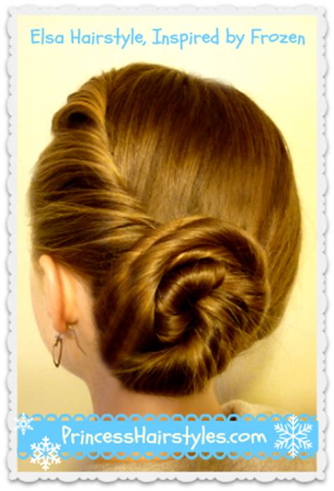 Elsa Hairstyles by Elsa Hairstyle Tutorial Inspired By Disney Frozen