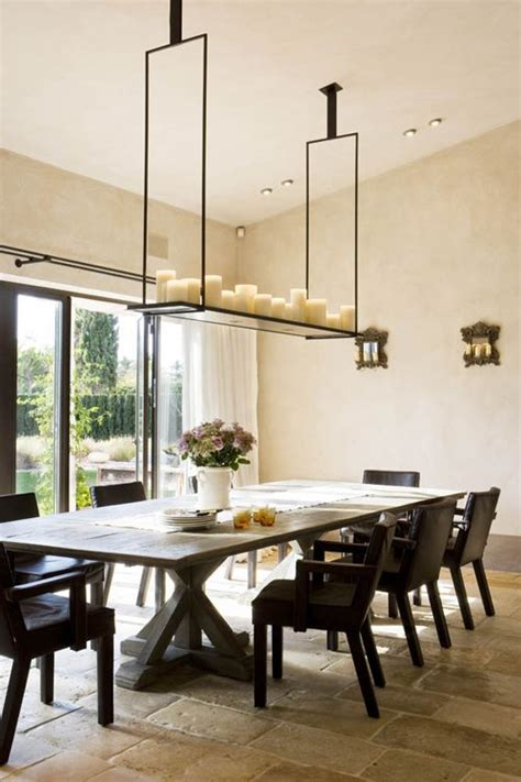 dinner table lighting 25 best ideas about hanging candle chandelier on