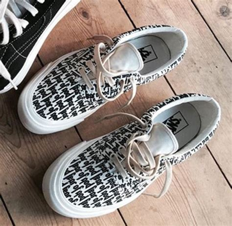 Vans Authentic Fear Of God fear of god vans on