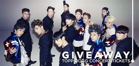 Concert Tickets Sweepstakes - giveaway topp dogg concert tickets