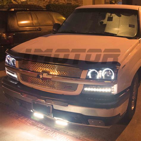 2004 chevy silverado lights 2003 2004 2005 2006 chevy silverado avalanche led halo