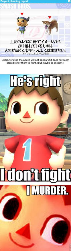 Animal Crossing Villager Meme - the villager the villager know your meme