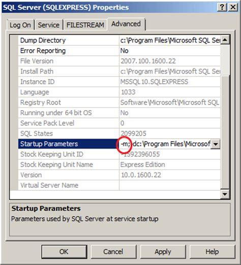 reset nvram in single user mode how to reset forgotten sql server password in single user mode