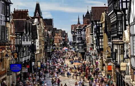 charming town chester charming old town by pingallery on deviantart