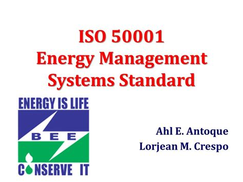 Effective Implementation Of An Iso 50001 Energy Management System Enms iso energy management systems standard ppt