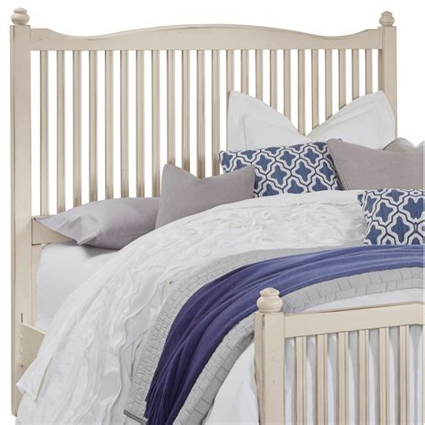 Wood Slat Headboard by Vaughan Bassett American Maple Solid Wood Slat