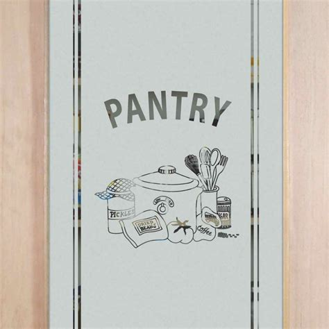 Decorative Glass Pantry Doors Etched Glass Pantry Door Page 7 Of 7 Sans Soucie Art Glass