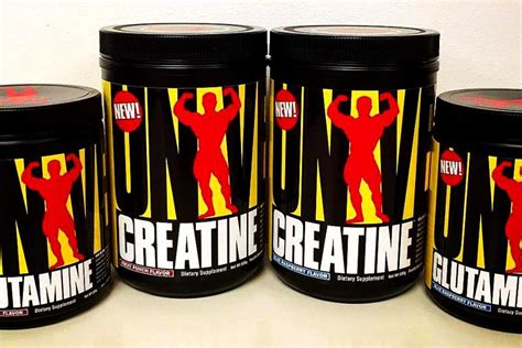 glutamine or creatine universal creatine and glutamine getting actual flavors
