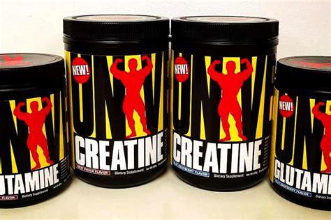 creatine universal universal creatine and glutamine getting actual flavors