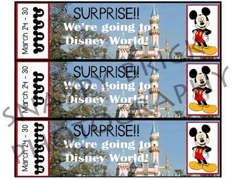printable disneyland tickets printable ticket to disneyland disney world with custom