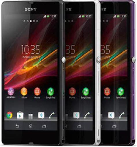 Hp Sony Xperia Warna Putih harga sony xperia z terbaru warna hitam putih dan ungu