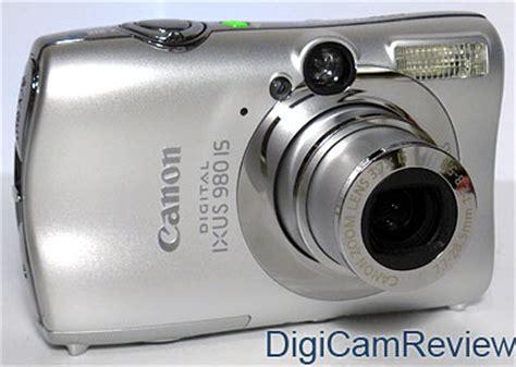 Digicamreview Com Canon Digital Ixus 980 Is Digital