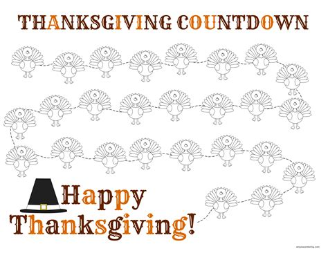 thanksgiving countdown are we there yet