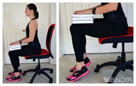cooking at your desk leg exercises you can do from your office chair