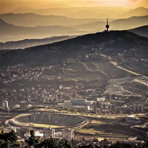 hank aaron stadium lights olympic stadium sarajevo stadiums pinterest