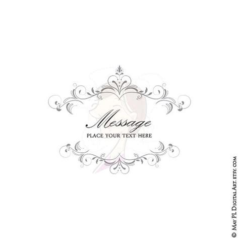 Wedding Invitation Border Eps by Wedding Diy Invitations Digital Frame Chandelier