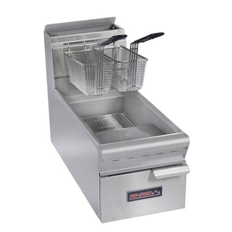 Gas Countertop Fryer by Tri 15 Lb Gas Countertop Fryer 12w