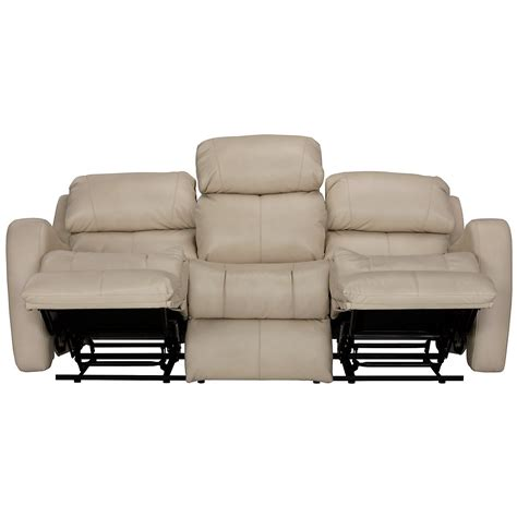 beige reclining sofa city furniture finn lt beige microfiber power reclining sofa