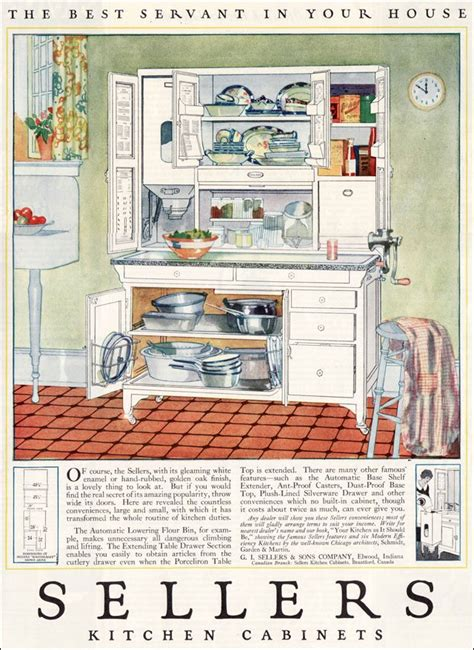 kitchen cabinet advertisement 1923 sellers kitchen cabinets vintage kitchen design