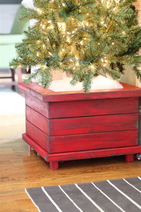 building a xmas tree box 21 tree stand ideas lolly