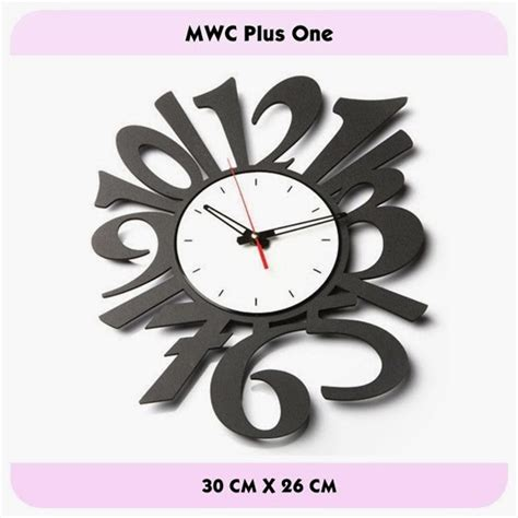 desain jam dinding dengan corel jam dinding unik murah dengan desain modern