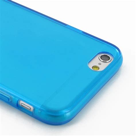 Softcase Iphone 6 Iphone 6 Iphone 6s Transparent Soft Gel Blue